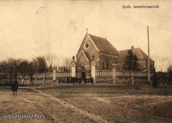 Az új Szent Mihály-temető bejárata