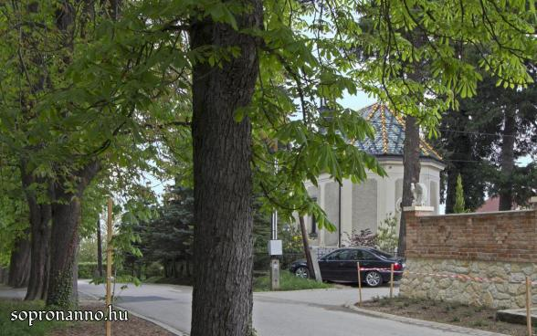 A Szent János-kápolna hátulja