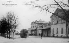 A GYSEV állomás