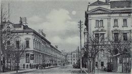 Erzsébet utca a Deák tér felől