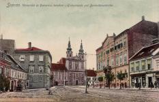 A Várkerület a Széchenyi tér felé