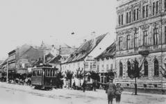 A Várkerület az Árpád utcánál