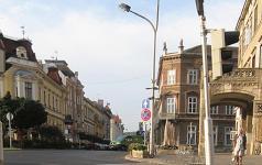 Az Erzsébet utca a Széchenyi tér felől