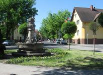 A Hunyadi János utca a Béke út felől
