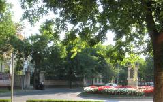 A Kossuth utca egy részelete