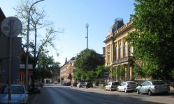 A Lackner Kristóf utca a Patak utca felől