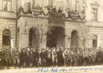 Cserkészek 1922. december 14-én