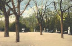 Az Erzsébet-kert 1915 körül