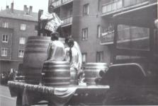 Felvonulás a Mátyás király utcában