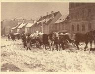 Hóeltakarítás a Várkerületen egykor