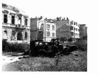 Deák tér bombázás után