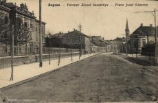 A Ferencz József gyalogsági laktanya