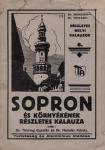 Sopron és környékének részletes kalauza