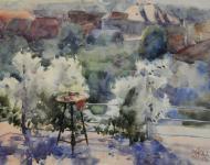 Mende Gusztáv: A teraszról