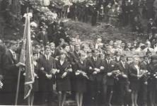 A Berzsenyi Dániel Gimnázium ballagása 1968-ban