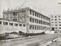 A Bors László Általános Iskola építése
