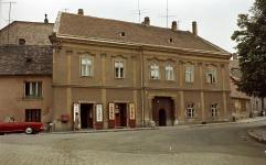 Az egykori Fekete Sas fogadó épülete