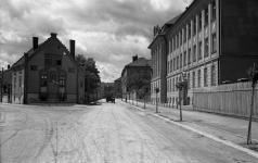 A Ferenczy János utca és a Mező utca találkozása egykor