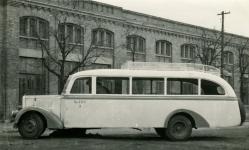 """""""A GySEV 2. számú autóbusza Sopronban a SOTEX előtt"""""""