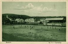 A GySEV sportpálya a Felkelő úton