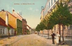 A II. Rákóczi Ferenc utca egykor