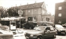A Kőfaragó téri benzinkútnál 1989 nyarán