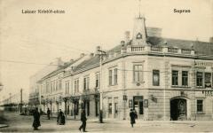 A Lackner Kristóf utca a 20. század elején