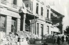 A Lenck-ház bombázás után