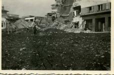 A Lövér szálló romokban