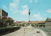 A Mária-szobor környéke az 1970-as évek végén