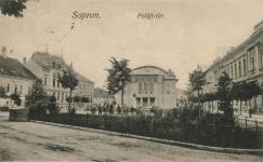 A Petőfi tér az 1910-es években
