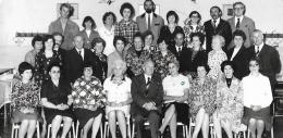 A Petőfi téri Általános Iskola tanári kara 1977-ben