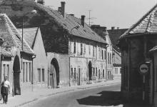 A Pócsi utca 1970 körül