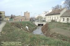 A Rák-patak a Csengery utca és a Kőszegi út találkozásánál