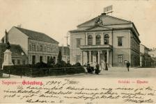 A régi színház 1900 körül