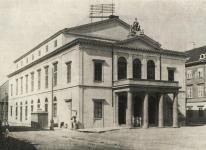 A régi színház épülete