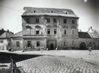 A Sas tér 1. az 1950-es években