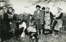 Szüreti csoportkép