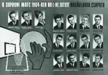 A soproni MAFC 1964-ben NB I.-be jutott kosárlabda csapata