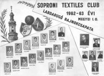 A soproni Textiles csapata