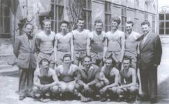 A Soproni Pamut kosárlabdacsapata 1955-ben