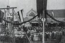 A Papréti tornacsarnok avatása