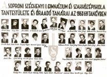 SZIG tantestületi tabló