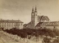 A Széchenyi tér a 19.század végén