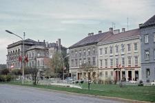 A Széchenyi tér az 1960-as évek végén