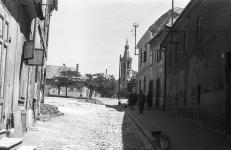 A Szent Mihály utca a Dorffmaister utca felől 1961-ben