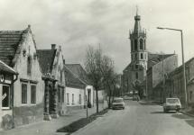 A Szent Mihály utca az 1980-as években