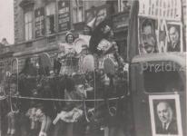 A Tűgyár dolgozónak felvonulása 1948. május 1-én