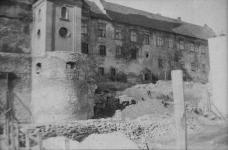 A várfal leomlása 1967-ben