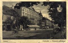 A Várkerület a Pannónia Szállóval
